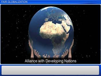 Animated video Lecture for Fair Globalization
