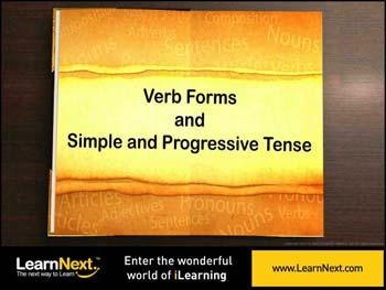 Animated video Lecture for Simple Present and Present Continuous Tense