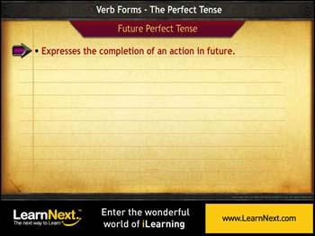 Animated video Lecture for Future Perfect, Future Perfect Continuous Tense and Future time Reference