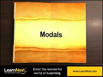 Animated video Lecture for Modals