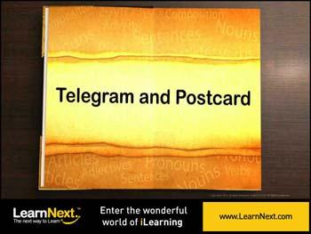 Animated video Lecture for Telegram Writing - Rules, Format and Sample