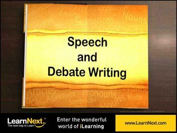 Animated video Lecture for Speech Writing - Purpose, Format and Sample
