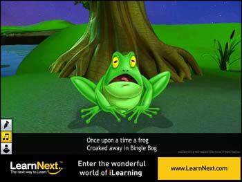 Animated video Lecture for The Frog and the Nightingale