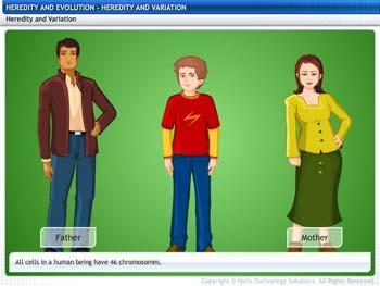 Animated video Lecture for Heredity and Variations
