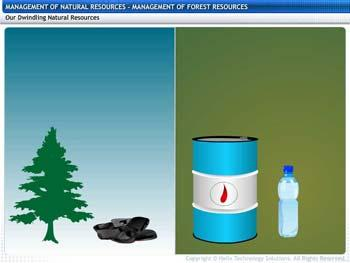 Animated video Lecture for Management of Forest Resources