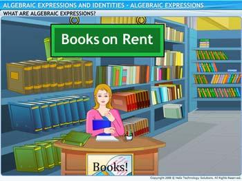 Animated video Lecture for Algebraic Expressions