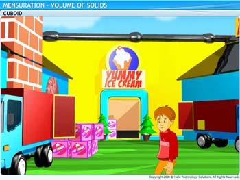 Animated video Lecture for Volume of Solids