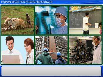 Animated video Lecture for Human-Made and Human Resources