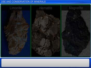 Animated video Lecture for Use and Conservation of Minerals