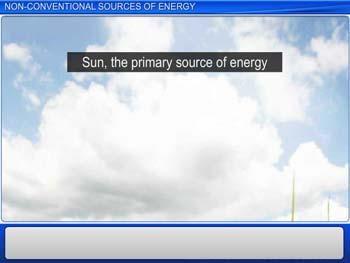 Animated video Lecture for Non-conventional Sources of Energy