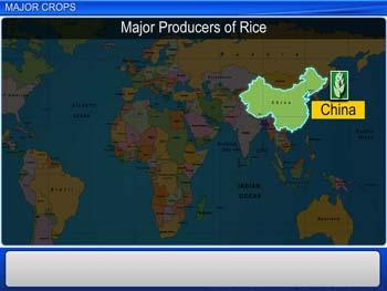 Animated video Lecture for Major Crops