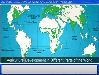 Animated video Lecture for Agricultural Development and Comparative Study
