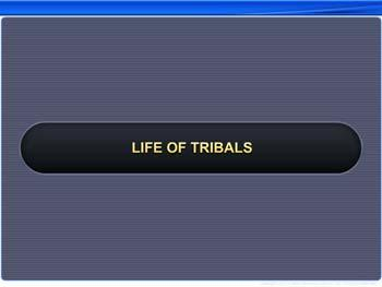 Animated video Lecture for Life of Tribals