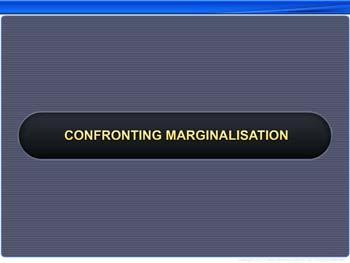 Animated video Lecture for Confronting Marginalisation
