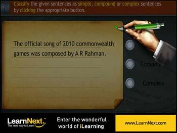 Animated video Lecture for Complex Sentences
