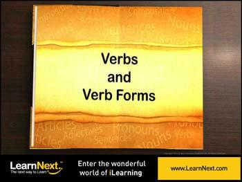 Animated video Lecture for Verb Forms - Introduction