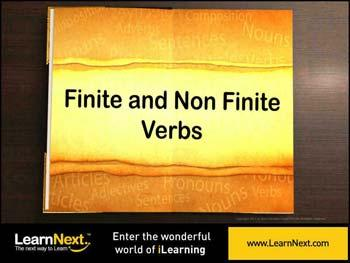 Animated video Lecture for Finite and Non Finite Verbs