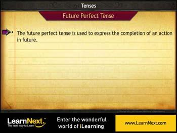 Animated video Lecture for Future Perfect Tense