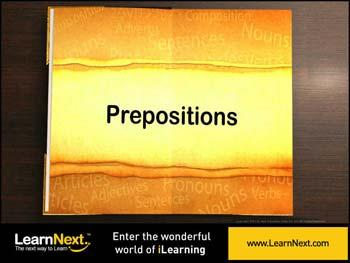 Animated video Lecture for Prepositions