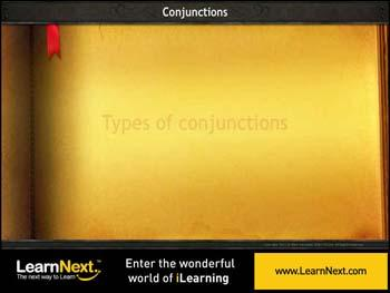 Animated video Lecture for Coordinating Conjunctions - Types
