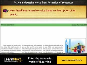 Animated video Lecture for Headlines - Based on Description
