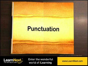 Animated video Lecture for Punctuation - Intro Activity