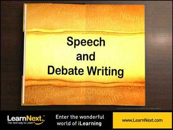 Animated video Lecture for Speech Writing - Format and Sample