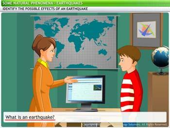 Animated video Lecture for Earthquakes