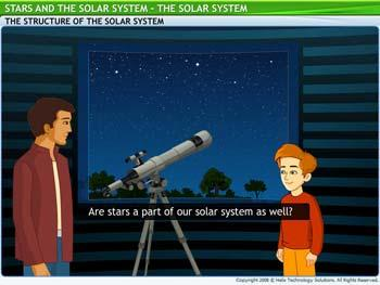 Animated video Lecture for Solar System