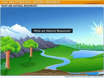 Animated video Lecture for Natural Resources