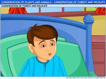 Animated video Lecture for Conservation of Forest and Wildlife