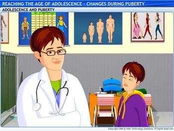 Animated video Lecture for Changes during Puberty