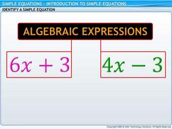 Animated video Lecture for Introduction to Simple Equations