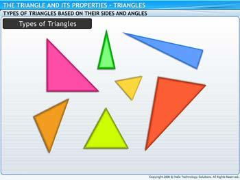 Animated video Lecture for Triangles