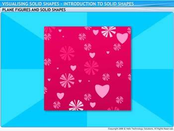 Animated video Lecture for Introduction to Solid Shapes