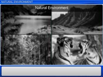 Animated video Lecture for Natural Environment