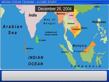 Animated video Lecture for Indian Ocean Tsunami - A Case Study