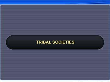 Animated video Lecture for Tribal Societies