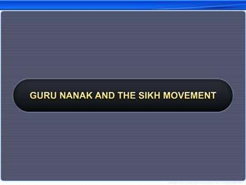 Animated video Lecture for Guru Nanak and the Sikh Movement