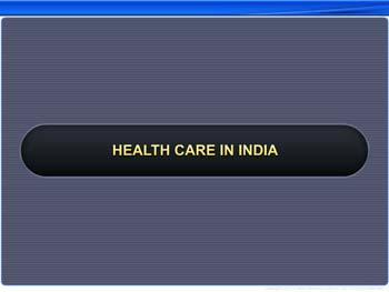 Animated video Lecture for Health Care in India