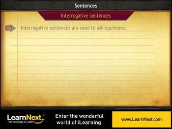 Animated video Lecture for Interrogative Sentences - Auxilliary Start