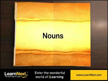 Animated video Lecture for Kinds of Nouns