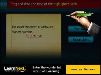 Animated video Lecture for Transitive and Intransitive Verbs