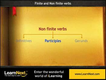 Animated video Lecture for Participles