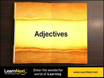 Animated video Lecture for Introduction to Adjectives