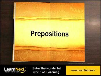 Animated video Lecture for Types of Prepositions