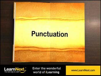 Animated video Lecture for Introduction to Punctuation