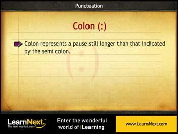 Animated video Lecture for Punctuation Marks