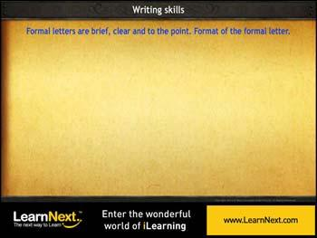 Animated video Lecture for Letter Writing - Formal Letters