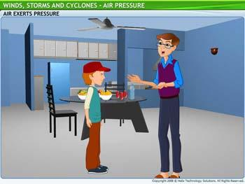 Animated video Lecture for Air Pressure